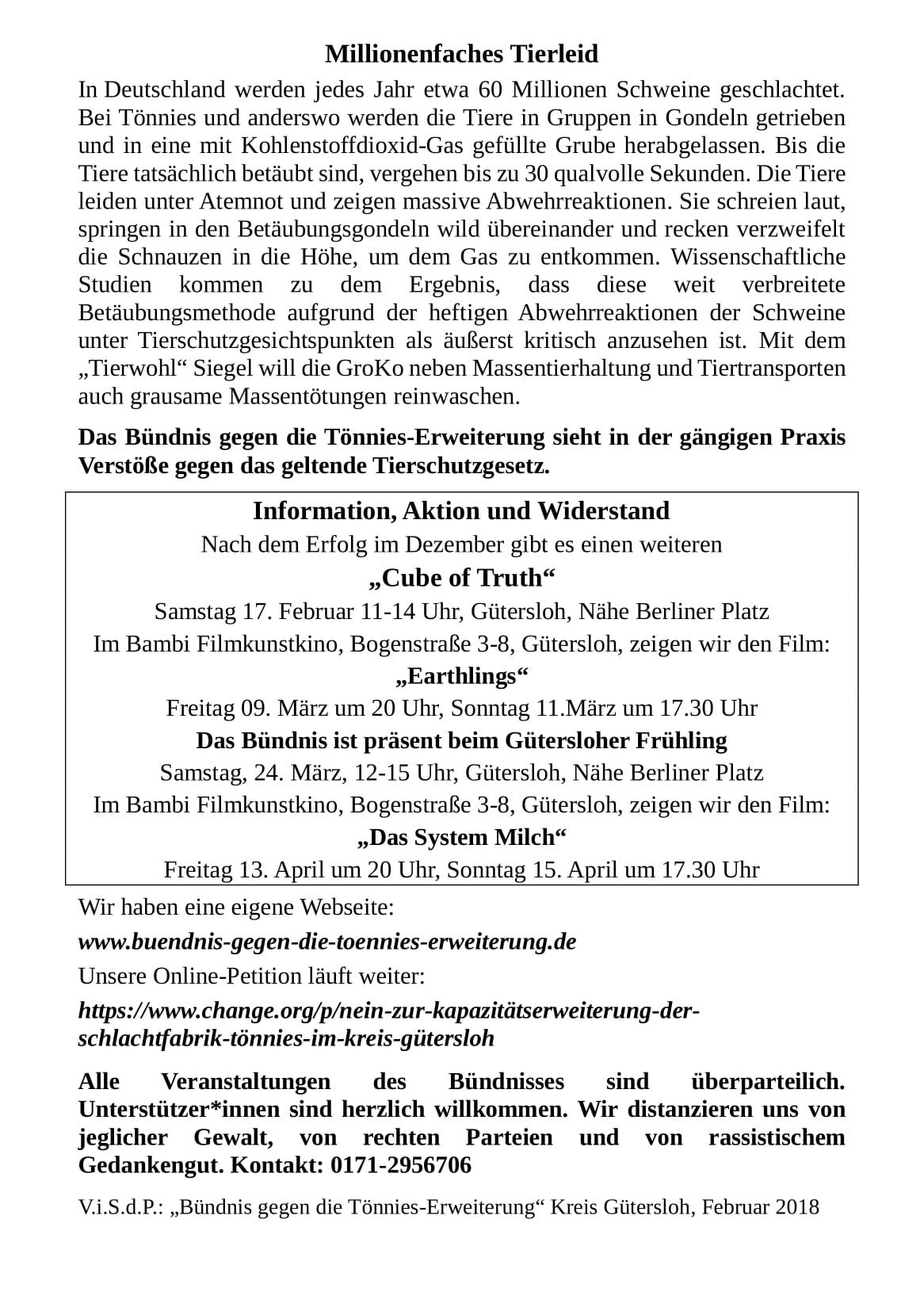 Nein zur Kapazitätserweiterung V2 - Flyer - Seite 2