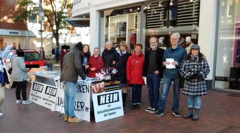 PM Aktionstag am 20.10.2018 – Widerstand gegen die Tönnies-Erweiterung wächst