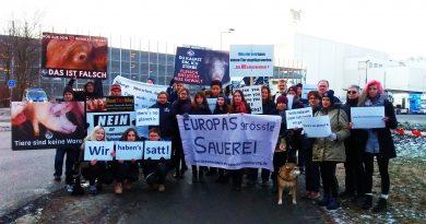 Wir haben es satt – Solidaritäts-Demo zur Großdemo in Berlin am 19.01.2019